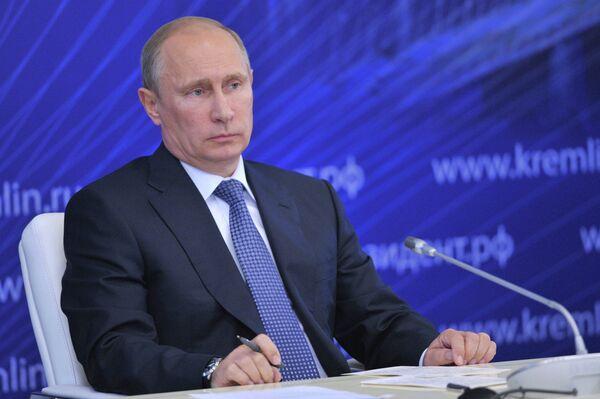 Putin: Allegations Against Assad 'Provocation' - Sputnik International