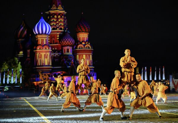 Moscow's Spasskaya Tower Festival – Highlights - Sputnik International