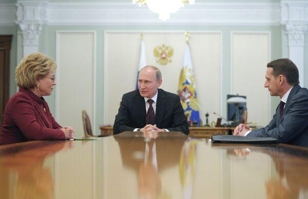 Putin Backs Proposed US-Russian Talks on Syria - Sputnik International