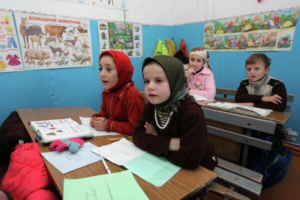 Students during a lesson in a Dagestani school - Sputnik International