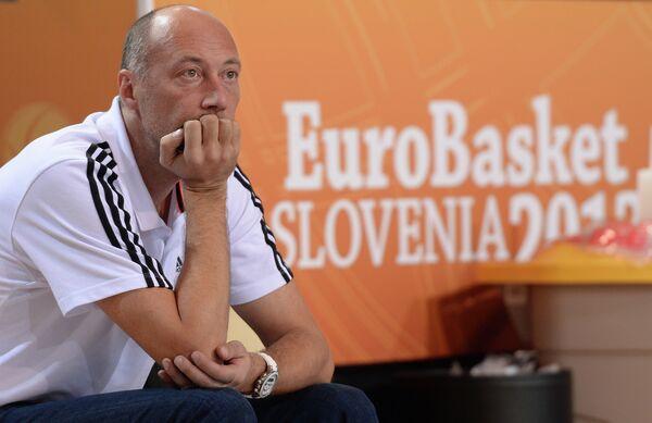 EuroBasket: Coach Blasts Sluggish Russia - Sputnik International