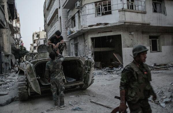 Situation in Syria - Sputnik International