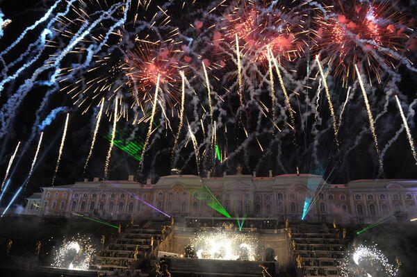 Fireworks, Fountains and a Phoenix Rising at G20 Summit Show - Sputnik International