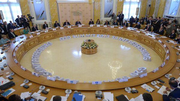G20 Leaders Target Corruption – Putin - Sputnik International