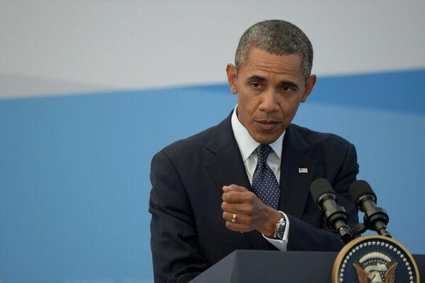 Barack Obama at the G20 Summit in St. Petersburg - Sputnik International