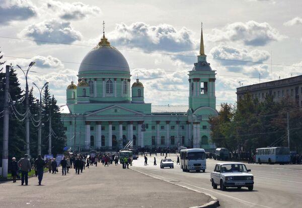 A view of Kursk, Russia's сleanest - Sputnik International
