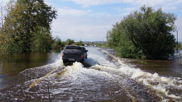 Flood-hit Far East region - Sputnik International