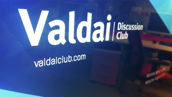 Valdai Discussion Club - Sputnik International