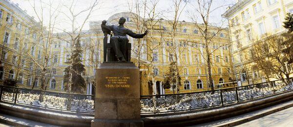 Composer Pyotr Tchaikovsky Monument in Moscow - Sputnik International