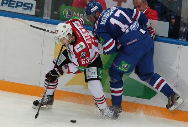 Donbass Consign SKA to First KHL Defeat of the Season - Sputnik International