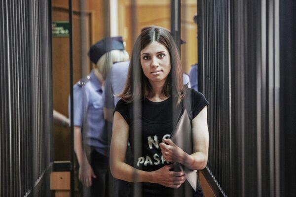 Nadezhda Tolokonnikova in court - Sputnik International