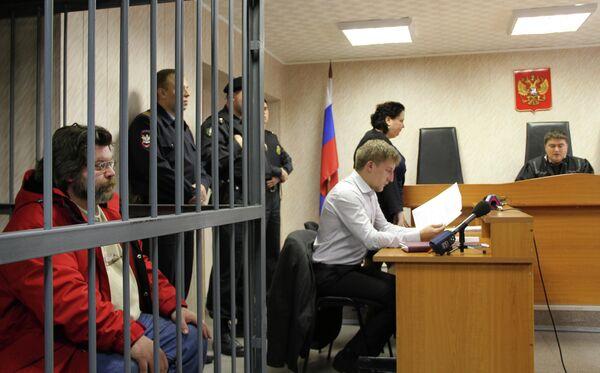 Greenpeace activist in Russian court - Sputnik International