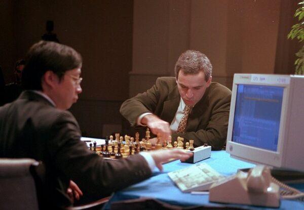 Kasparov's 1996 match against Deep Blue - Sputnik International