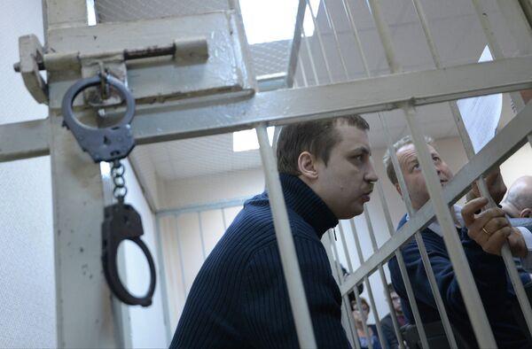 Mikhail Kosenko during his trial - Sputnik International
