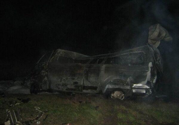 12 Killed in Volga Area Car Crash - Sputnik International