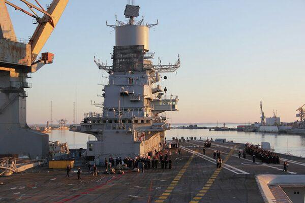 The aircraft carrier Vikramaditya - Sputnik International