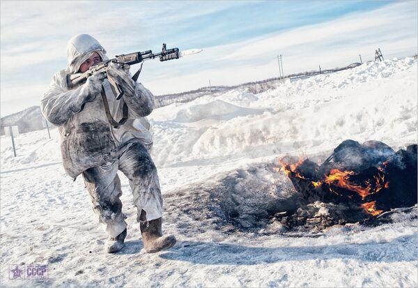 Russian Tactical Drills in Arctic (Archive) - Sputnik International