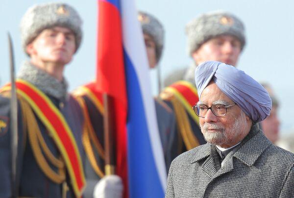 India's Prime Minister Manmohan Singh - Sputnik International