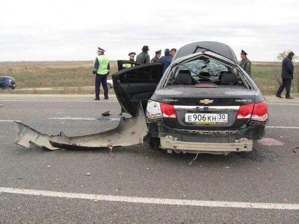 Traffic accident scene - Sputnik International