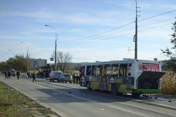 The site of the bus explosion in Volgograd - Sputnik International