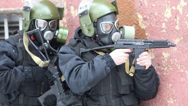 Counterterrorist drills in Russia - Sputnik International