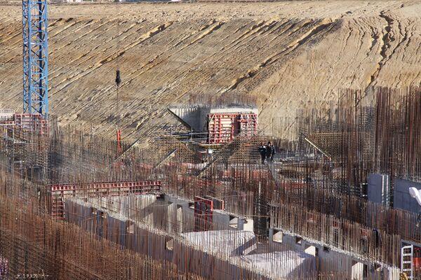 Construction site of the future Vostochny spaceport - Sputnik International