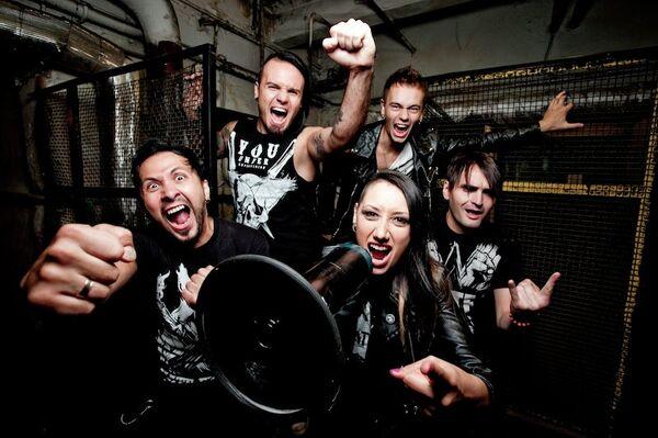 The Russian heavy metal band Louna - Sputnik International