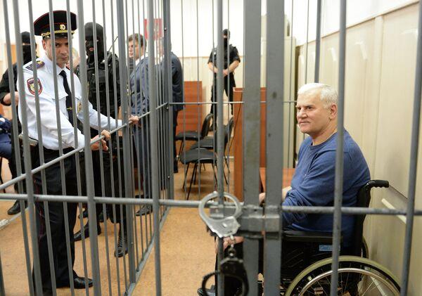 Ex-mayor of Makhachkala Said Amirov during trial in July 2013 - Sputnik International