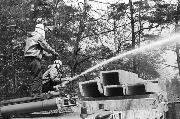 Cleanup of the Chernobyl nuclear disaster (archive) - Sputnik International