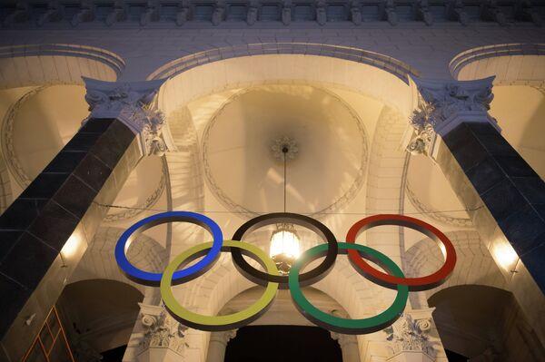 Olympic Rings in Sochi - Sputnik International