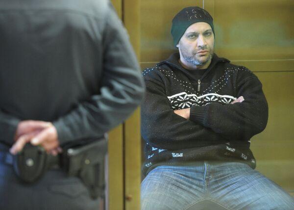 Sergei Khadzhikurbanov during a court hearing in Feb. 2013 - Sputnik International