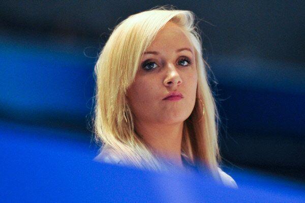 Russian-born American artistic gymnast Nastia Liukin, photograhed in Tokyo in 2011 - Sputnik International