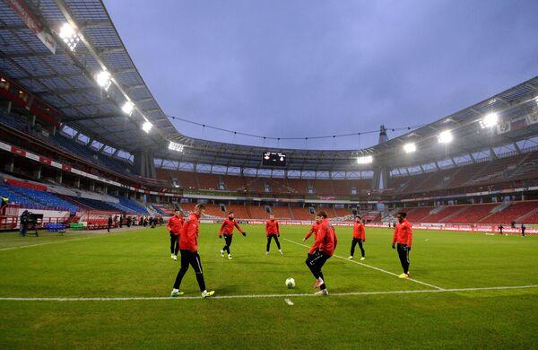 Spartak team in a Russian championship match - Sputnik International