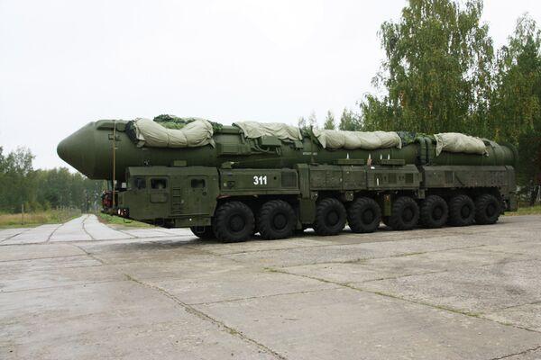 Yars mobile ballistic missile system - Sputnik International