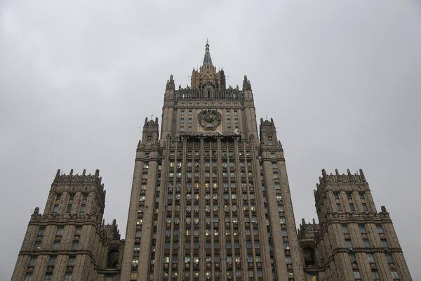 Russian Foreign Ministry headquarters - Sputnik International