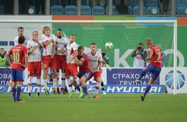 CSKA-Amkar match, August 30, 2013 - Sputnik International