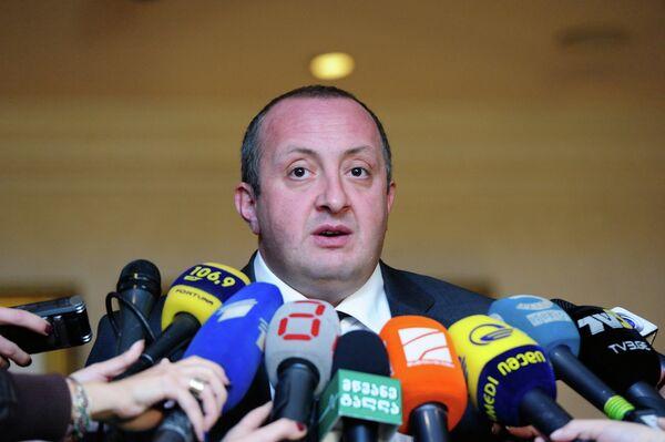 Georgia's president-elect Giorgi Margvelashvili - Sputnik International