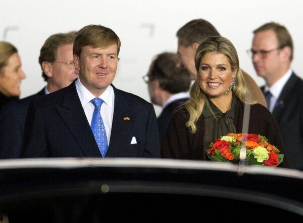 Dutch King Willem-Alexander and Queen Maxima - Sputnik International