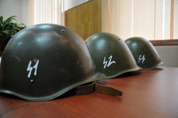 Russian Police Dismiss 'SS Helmet' Controversy at Football Match - Sputnik International