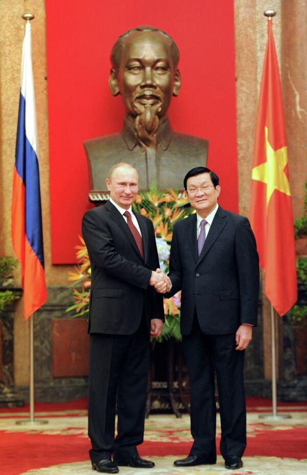Russia, Vietnam Sign Raft of Deals, Boosting Ties - Sputnik International
