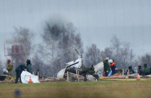 The Boeing 737 crashed on November 17 - Sputnik International