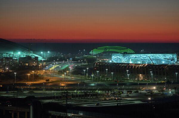 View of the Olympic Park in Sochi - Sputnik International