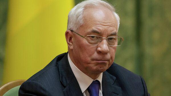 Former Ukrainian Prime Minister Mykola Azarov - Sputnik International