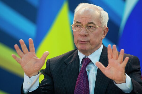 Prime Minister Mykola Azarov - Sputnik International