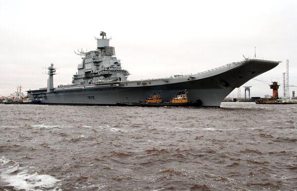 Vikramaditya aircraft carrier - Sputnik International