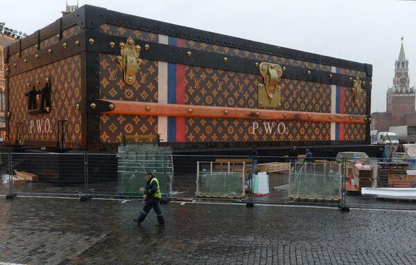 Case Closed: Kremlin Sends Louis Vuitton Packing From Red Square - Sputnik International