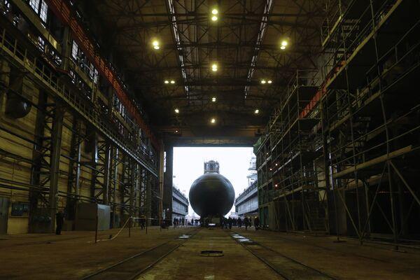 Novorossiisk submarine - Sputnik International