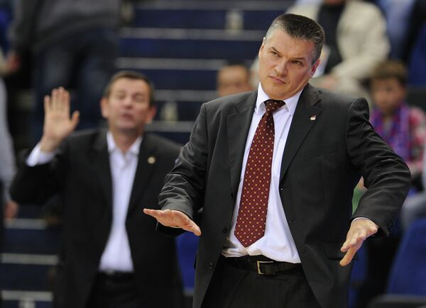 Basketball coach Evgeny Pashutin - Sputnik International