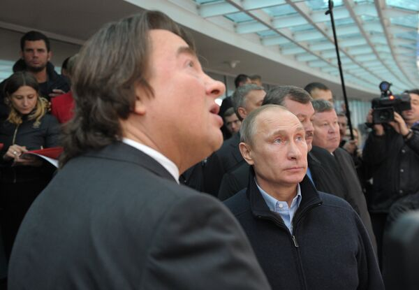 Putin Tours Sochi Opening Ceremony Venue - Sputnik International