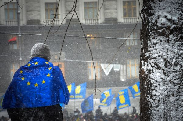 EU Suspends Work with Ukraine on Trade Deal – Official - Sputnik International